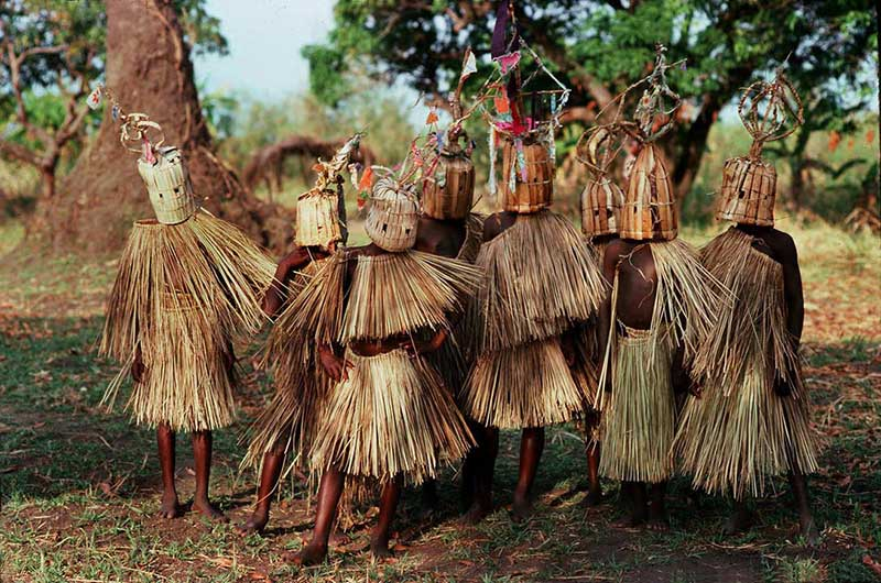Initiation ritual of boys in Malawi